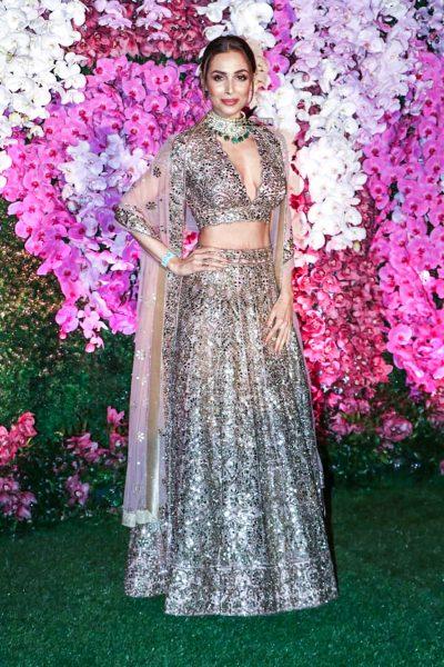 Malaika Arora At The Akash Ambani And Shloka Mehta Wedding Reception