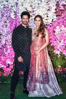Shahid Kapoor At The Akash Ambani And Shloka Mehta Wedding Reception