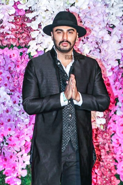 Arjun Kapoor At The Akash Ambani And Shloka Mehta Wedding Reception