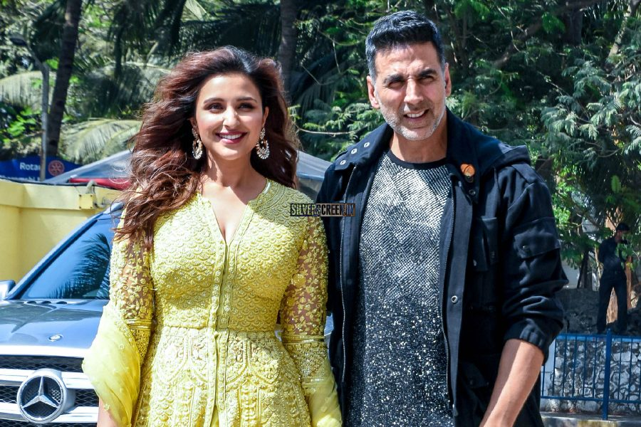 Akshay Kumar, Parineeti Chopra At The 'Kesari' Press Meet