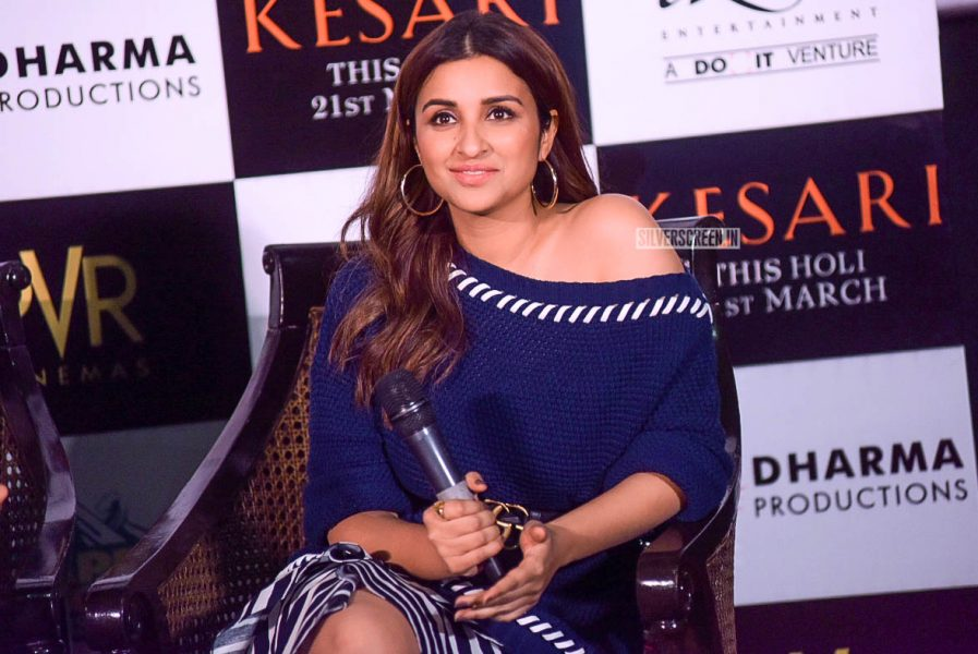 Parineeti Chopra Promotes 'Kesari' In Delhi