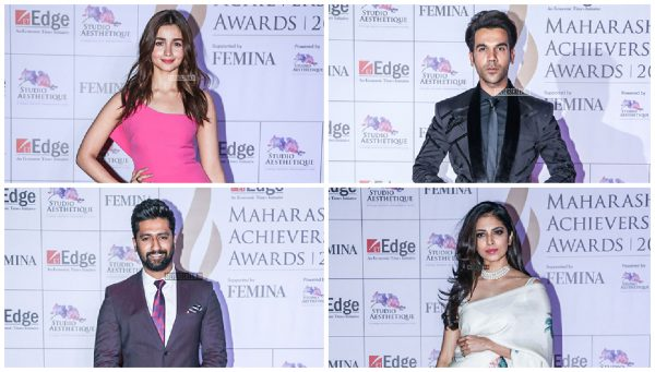 Celebrities At The Maharashtra Achievers Awards 2019
