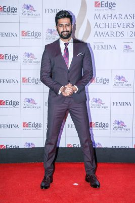 Vicky Kaushal At The Maharashtra Achievers Awards 2019