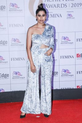 Sai Tamhankar At The Maharashtra Achievers Awards 2019