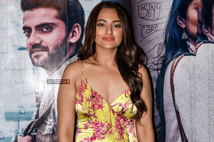 Sonakshi Sinha At The 'Notebook' Premiere