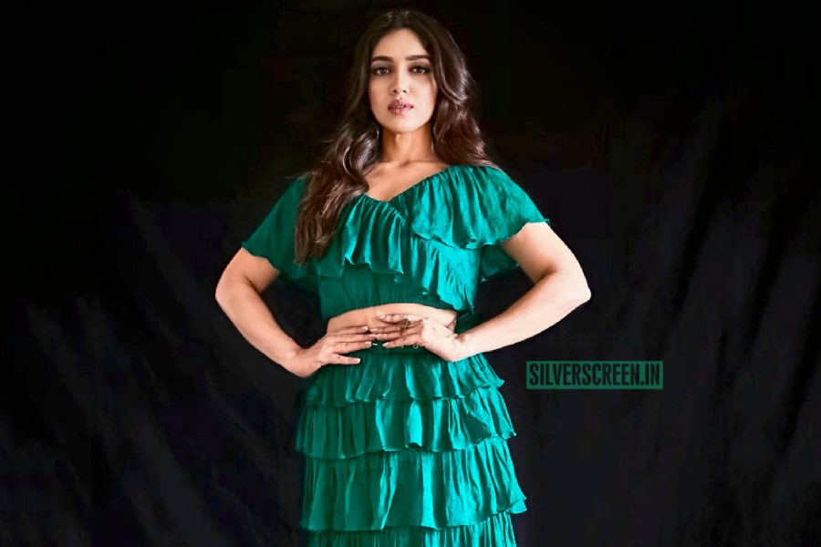 Bhumi Pednekar In An Ohaila Khan Outfit At A Promotional Interview For Sonchiriya