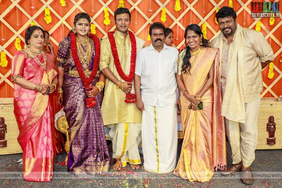 Thagar Bachan At Abinaya Parthiban, Naresh Karthik Wedding