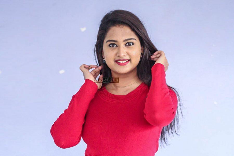 Chirashree Anchan At The Yandamoori Duppatlo Minnagu Teaser Launch