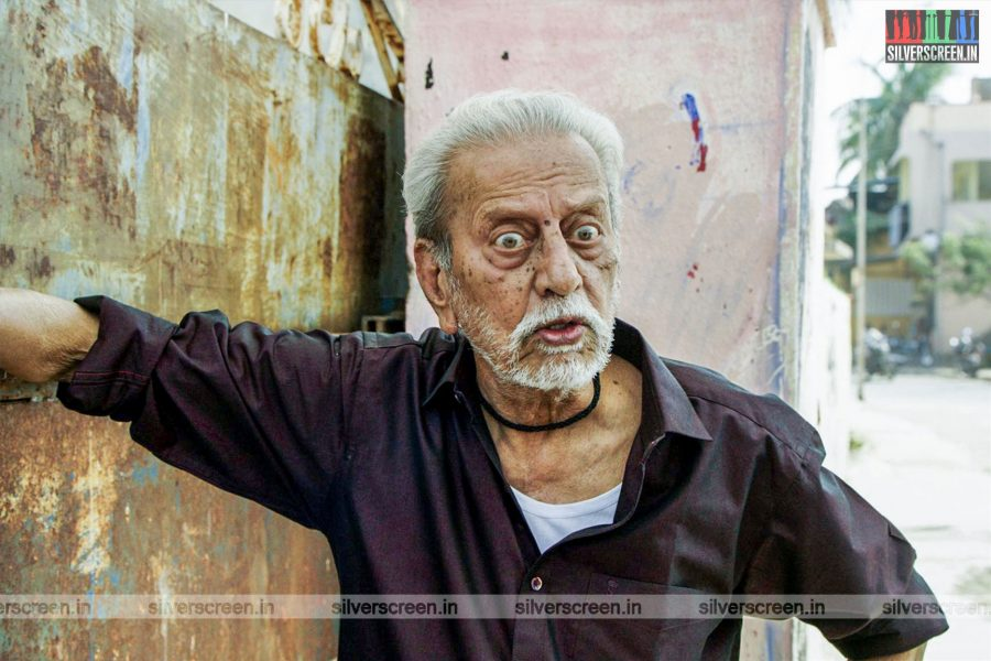 Dha Dha 87 Movie Stills Starring Charuhasan