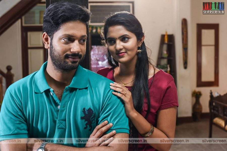 Embiran Movie Stills Starring Rejith Menon, Radhika Preeti