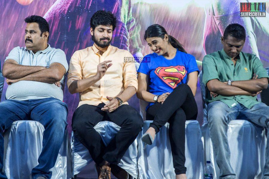 Harish Kalyan, Shilpa Manjunath At The 'Ispade Rajavum Idhaya Raniyum' Success Meet