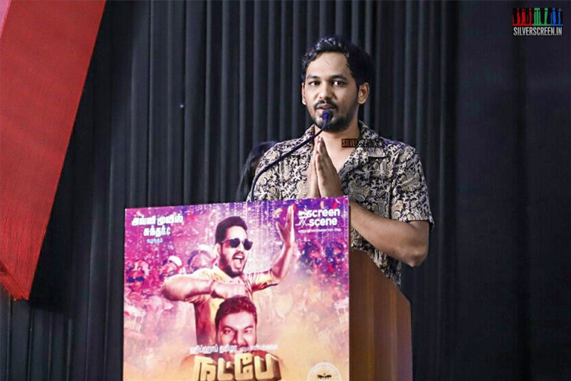 Hiphop Tamizha Aadhi At The 'Natpe Thunai' Trailer Launch