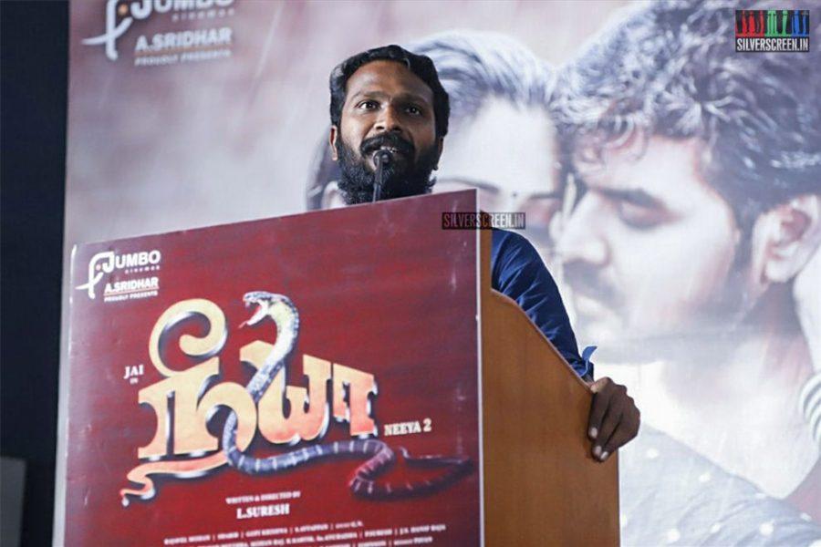Vetrimaaran At The 'Neeya 2' Press Meet
