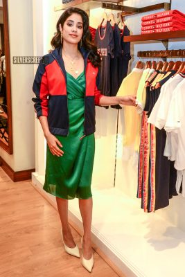 Janhvi Kapoor At A Store Launch