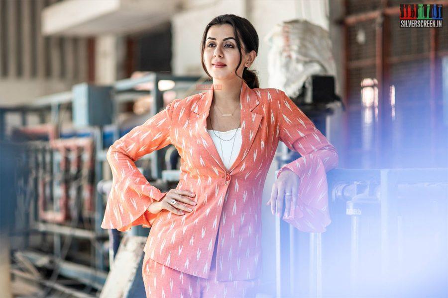 Nikki Galrani At The 'Kee' Press Meet