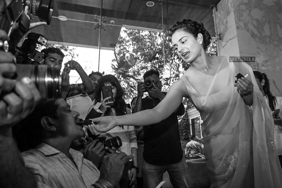 Kangana Ranaut Birthday Celebration Photos