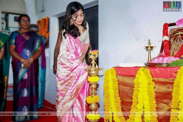 Rashmika Mandana Untitled Movie Launch Photos