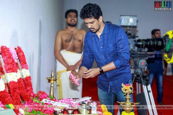 Celebrities At The Karthi-Rashmika Mandana Untitled Movie Launch Photos