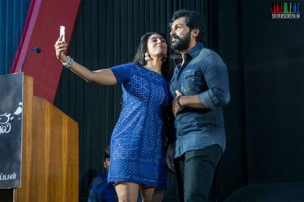 Karthi Sivakumar, Kasthuri At The 'July Kaatril' Audio Launch