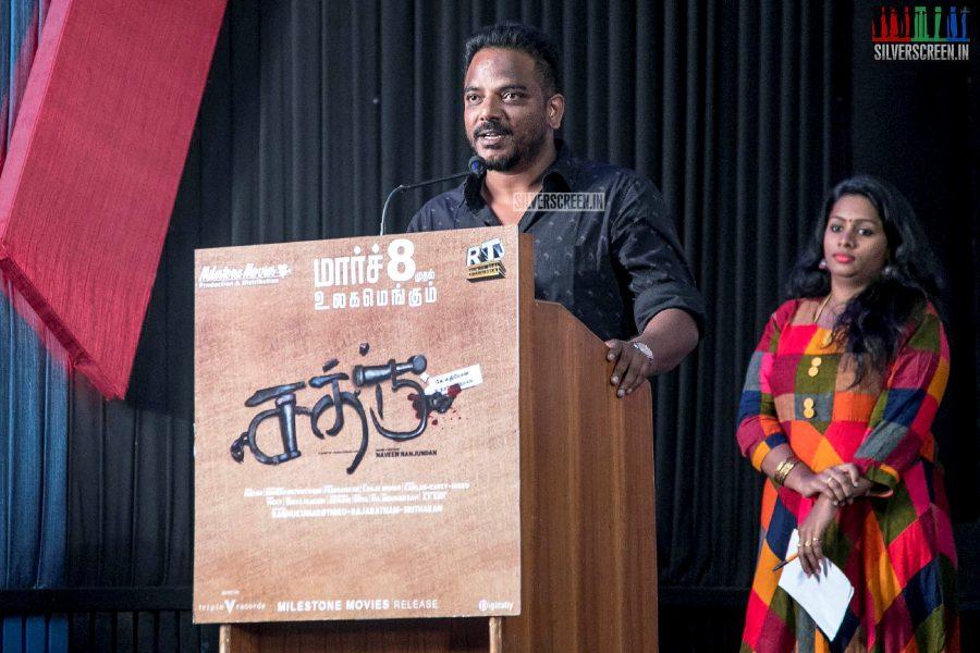'Sathru' Press Meet Photos