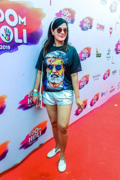Richa Chadda At The 'Zoom Holi Event'