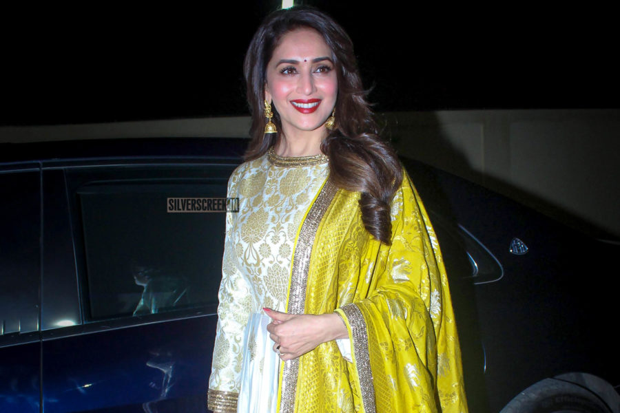 Madhuri Dixit At The '15 August' Premiere