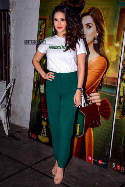 Sunny Leone At The 'Luka Chuppi' Success Meet
