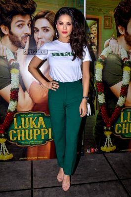 Sunny Leone At The 'Luka Chuppi' Success Meet