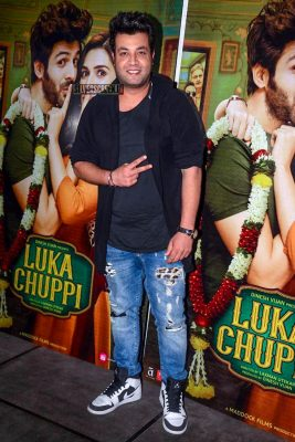 Celebrities At The 'Luka Chuppi' Success Meet