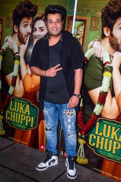 Celebrities At The 'Luka Chuppi' Success Meet