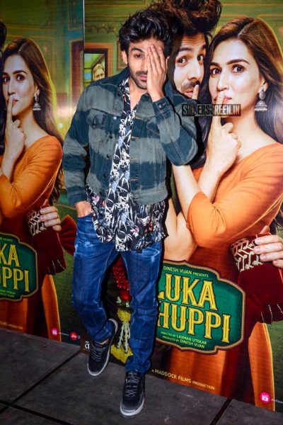 Kartik Aaryan At The 'Luka Chuppi' Success Meet