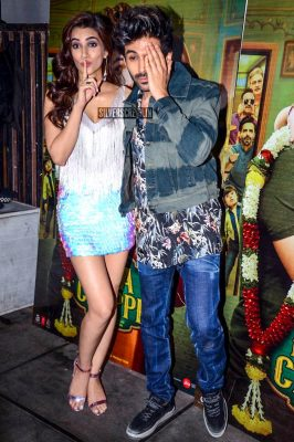 Kartik Aaryan, Kriti Sanon At The 'Luka Chuppi' Success Meet
