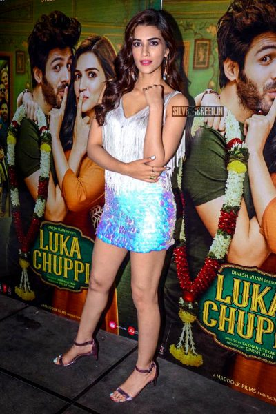 Kriti Sanon At The 'Luka Chuppi' Success Meet