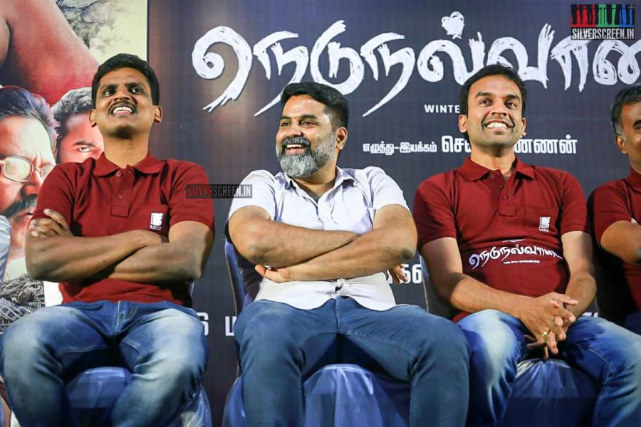 Nedunalvaadai Trailer Launch Photos