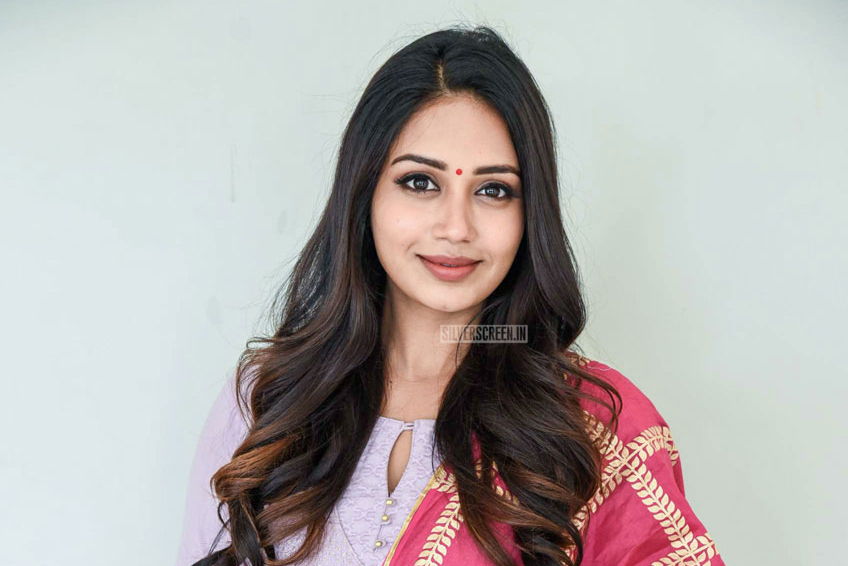 Nivetha Pethuraj At The 'ChitraLahari' Teaser Launch