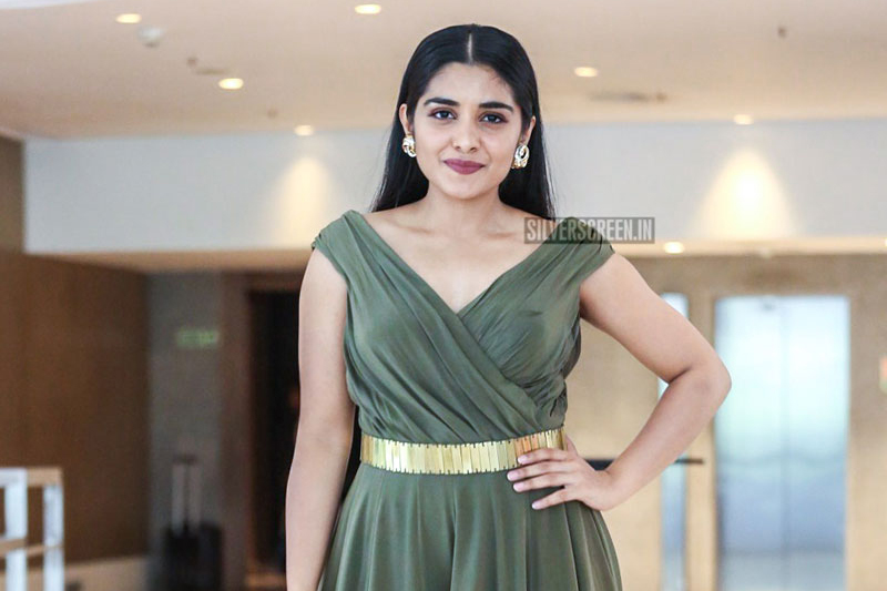 Nivetha Thomas At The '118' Success Meet