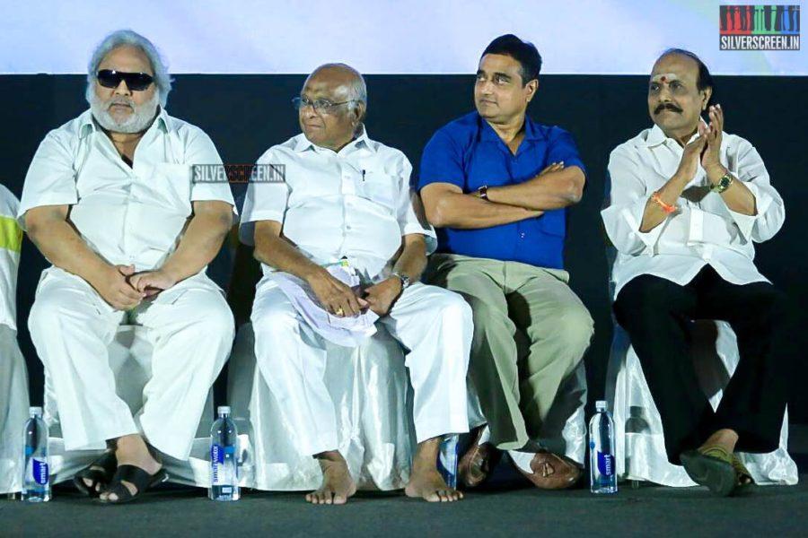 SP Muthuraman At The 'Vasantha Maligai' Trailer Launch