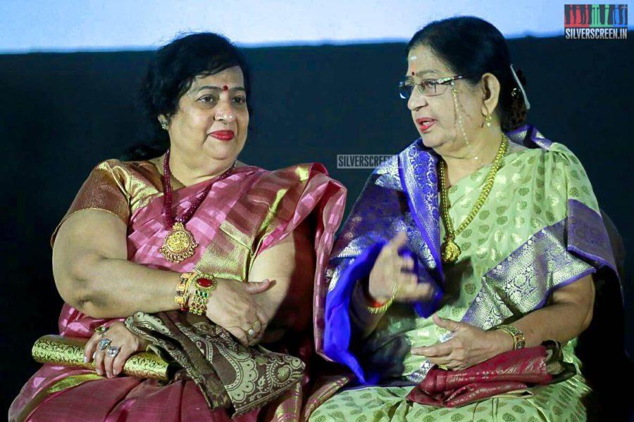 P Susheela At The 'Vasantha Maligai' Trailer Launch