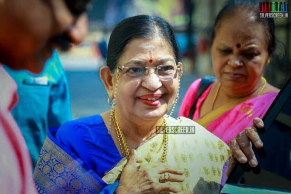 P Susheela At The 'Vasantha Maligai' Trailer Launch