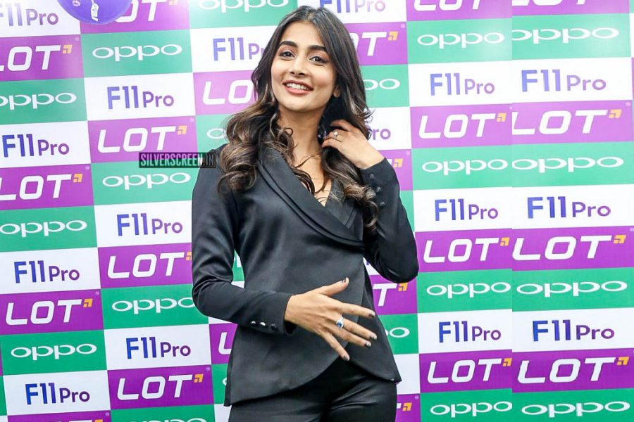 Pooja Hegde At A Smartphone Launch