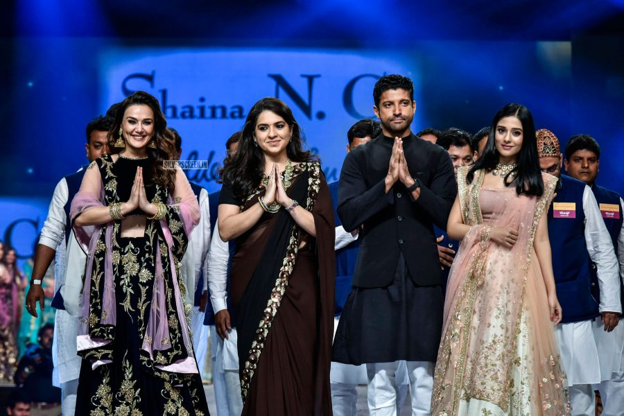 Priety Zinta Walks The Ramp For Shaina NC