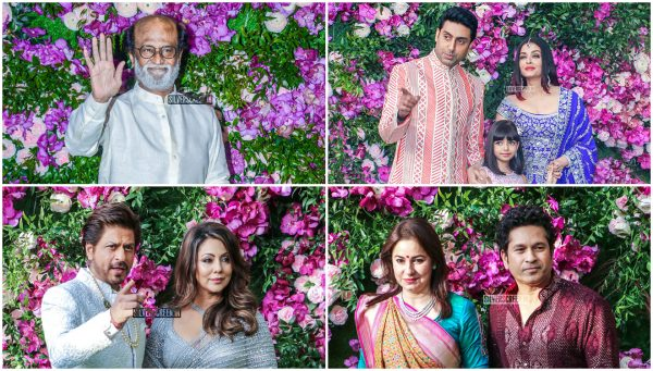 Celebrities At The Akash Ambani and Shloka Mehta Wedding