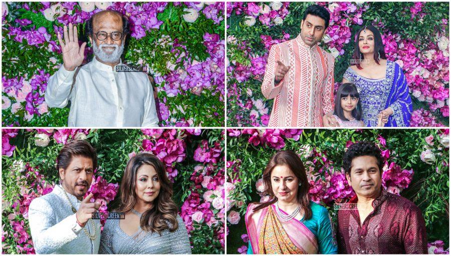 Celebrities At The Akash Ambani and Shloka Mehta Wedding