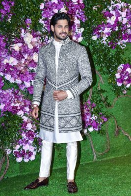 Sidharth Malhotra At The Akash Ambani and Shloka Mehta Wedding