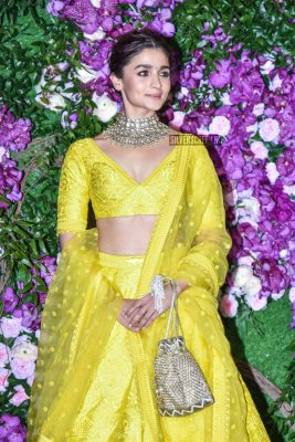 Alia Bhatt At The Akash Ambani and Shloka Mehta Wedding