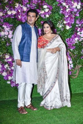 Visdya Balan At The Akash Ambani and Shloka Mehta Wedding