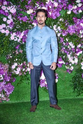 Toger Shroff  At The Akash Ambani and Shloka Mehta Wedding
