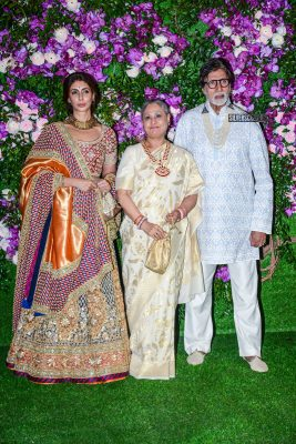 Amitabh Bachchan At The Akash Ambani and Shloka Mehta Wedding