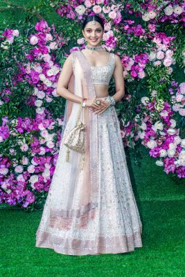 Kiara Advani At The Akash Ambani and Shloka Mehta Wedding