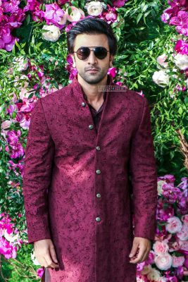 Ranbir Kapoor At The Akash Ambani and Shloka Mehta Wedding